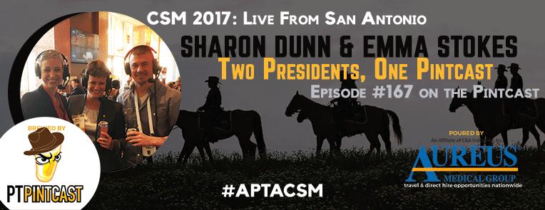 Sharon Dunn & Emma Stokes: 2 Presidents, 1 Pintcast