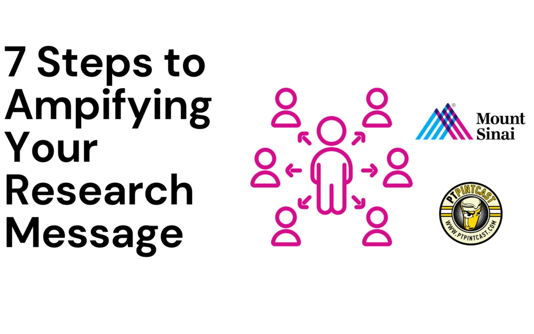 7 Steps to Amplify Your Research Message